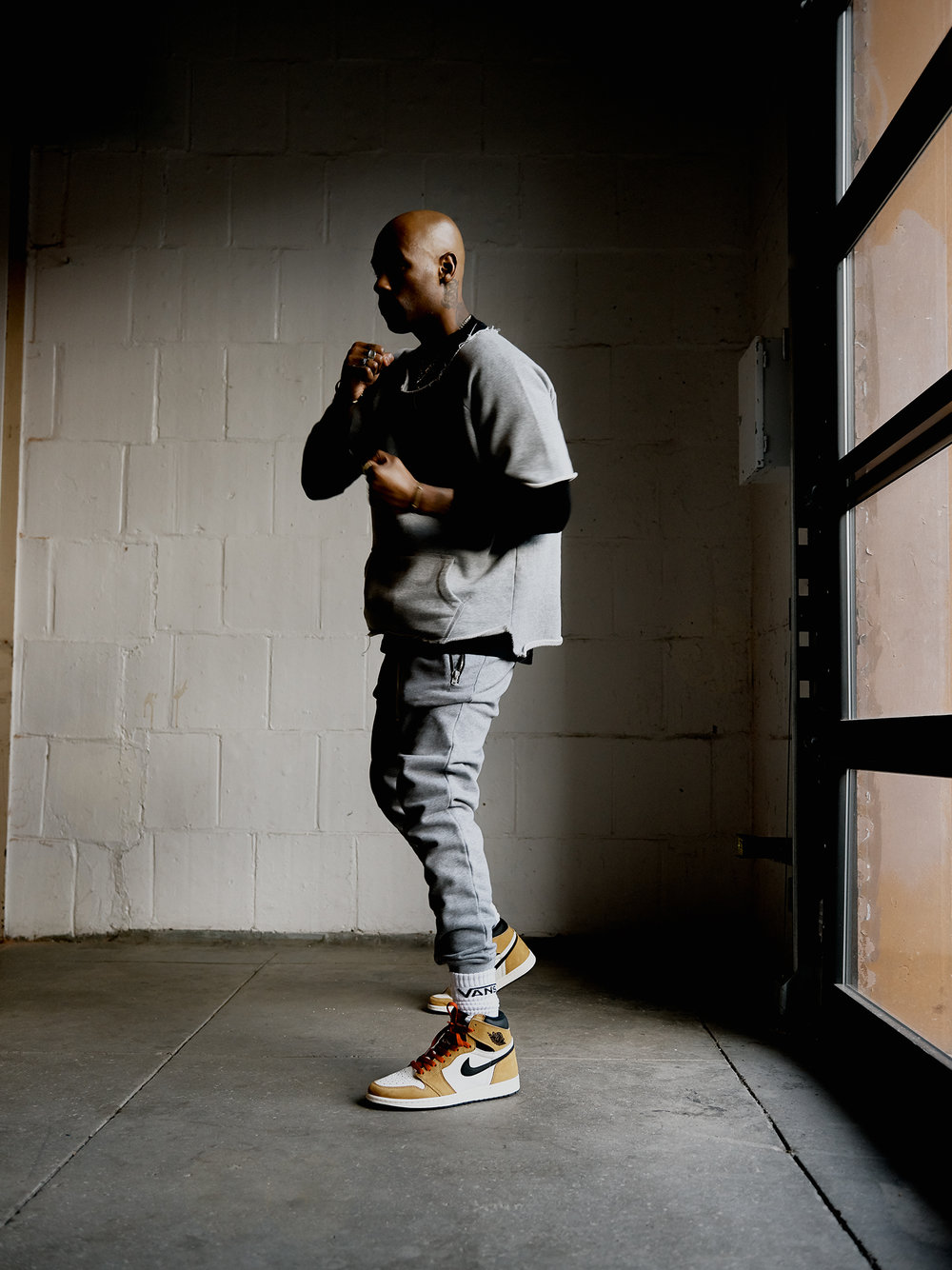 Boxing Trainer and Personal stylist Gregory Coachman
