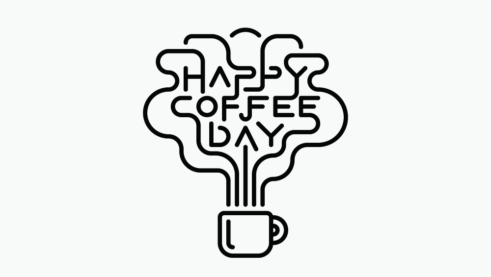 Happy Coffee Day by Lindsay Santiago