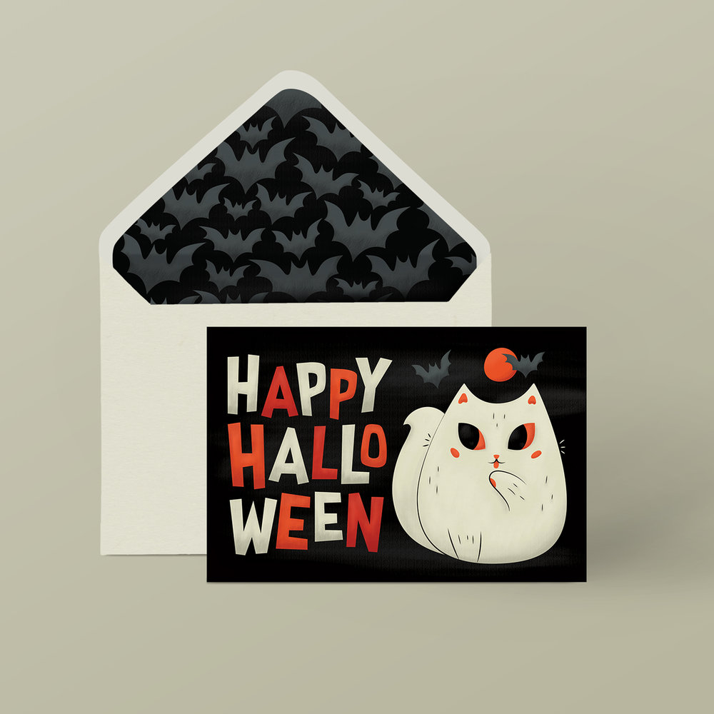 Halloween Card by Lindsay Santiago
