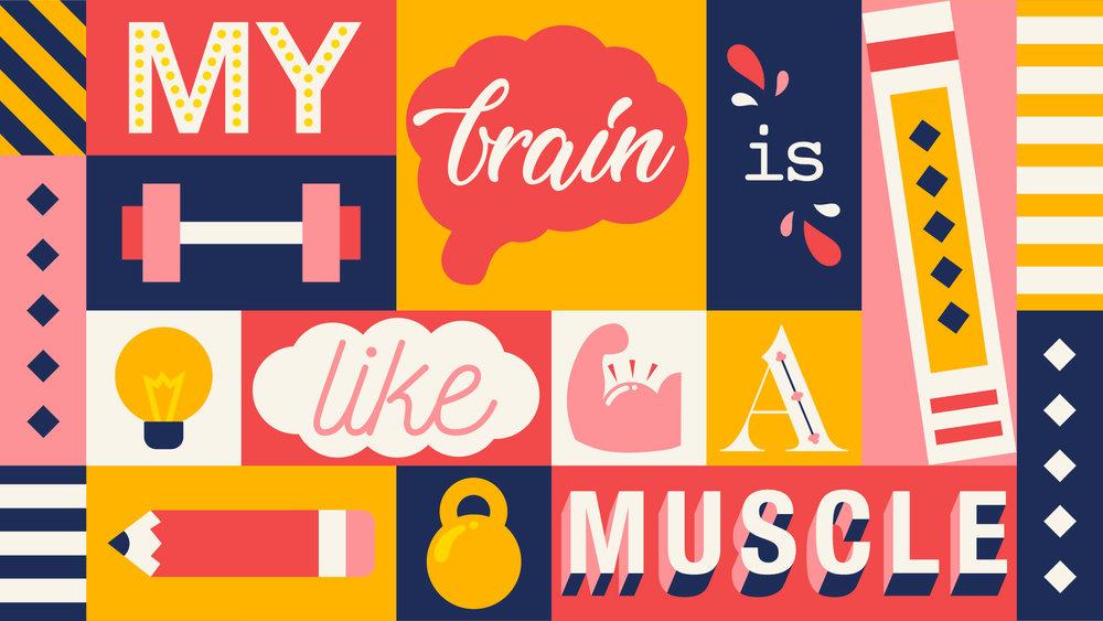 My Brain Is Like A Muscle by Lindsay Santiago