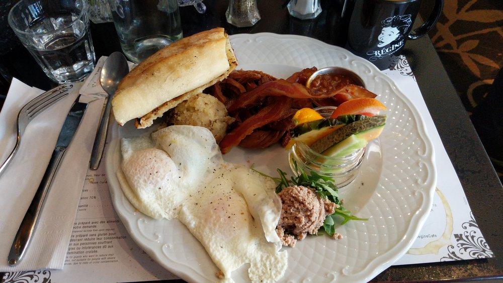 Café Régine Le gros jambon
