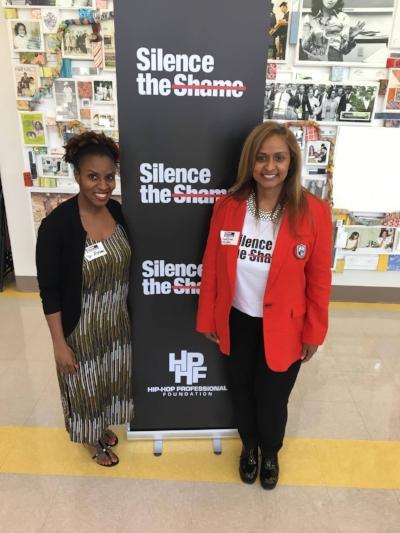 Dr. Abrams & Shanti Das (Silence the Shame Founder)