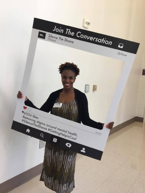 #JoinTheConversation #SilenceTheShame