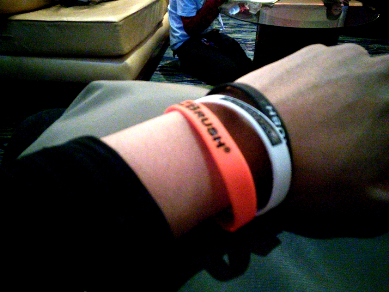 ZBrush wristbands