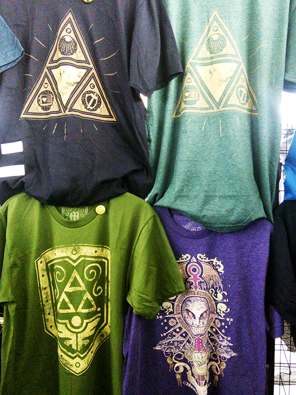 Awesome Zelda T-shirts