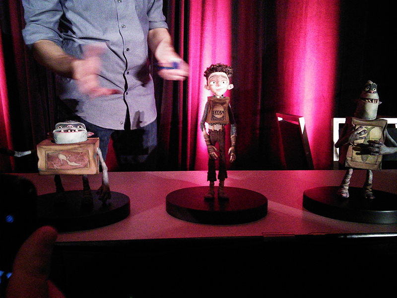 Character Puppets from Boxtrolls