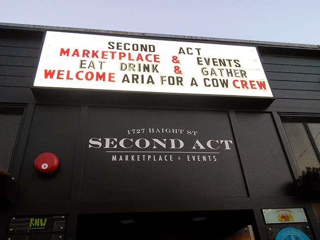 Second Act - Aria Wrap Party