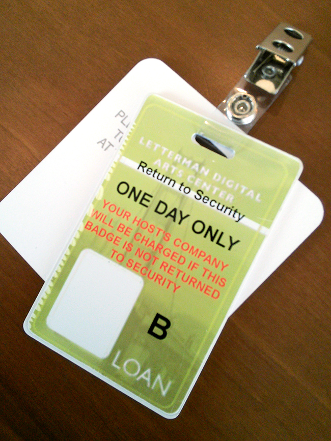 ILM guest badge