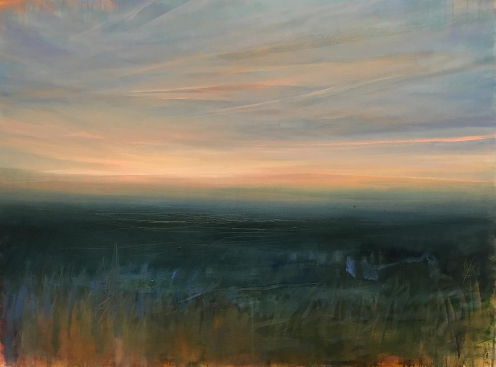 """Half an Acre,  oil on canvas, 36 x 48"""""""