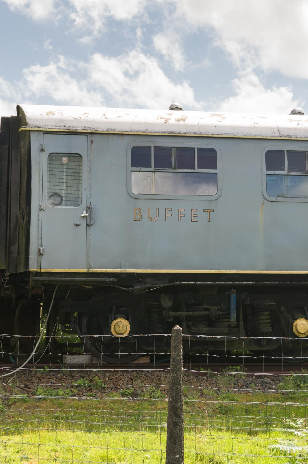Went on a bike ride past old railway cars