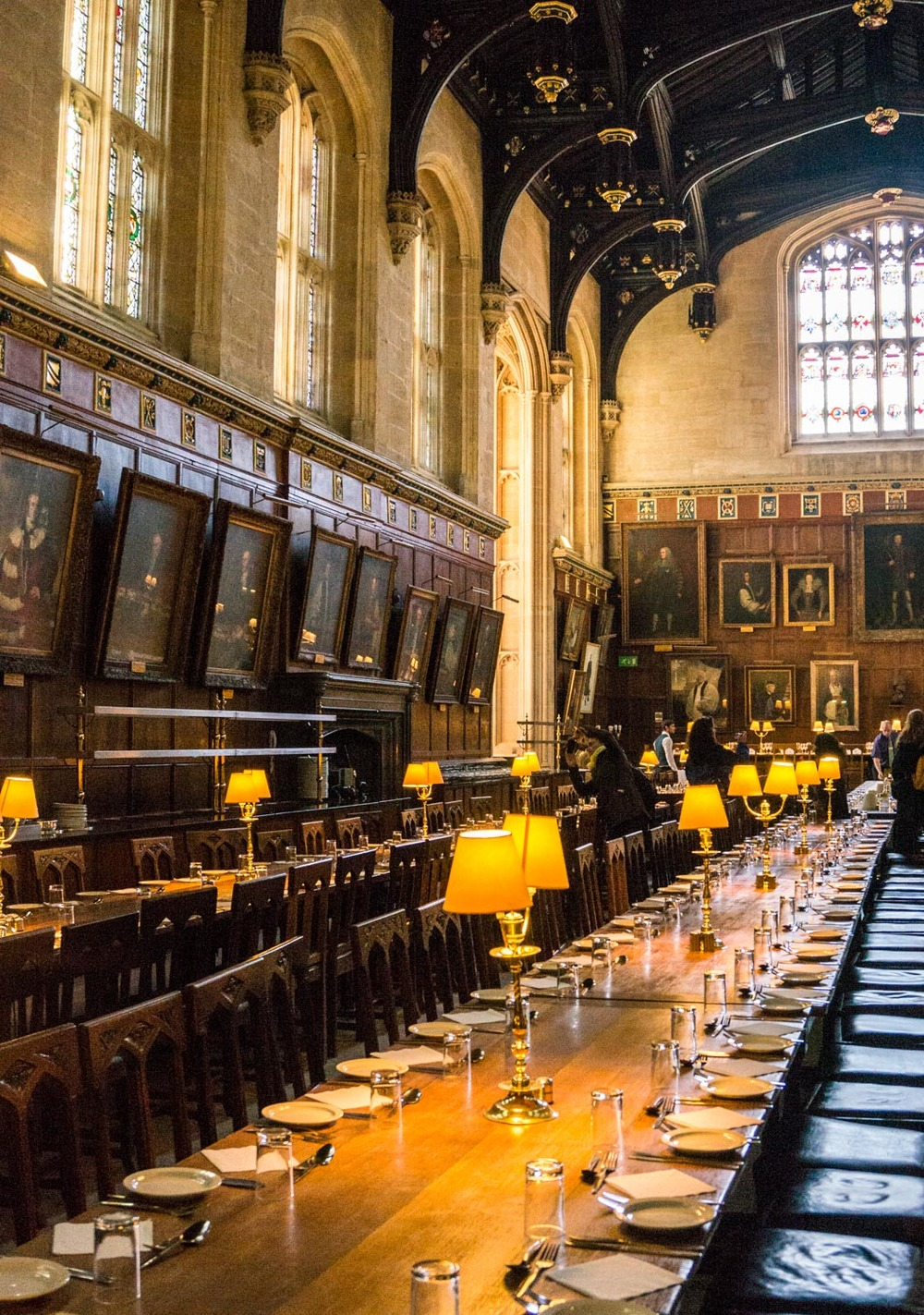 The Great Hall in Christ Church College, the inspiration for the Great Hall in Harry Potter