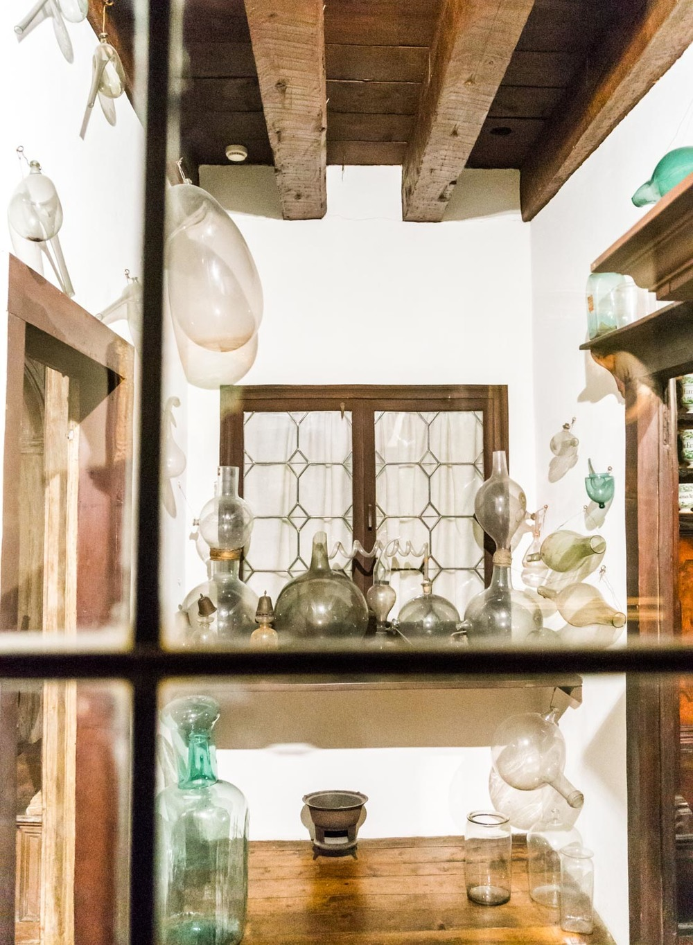 The apothecary inside the house