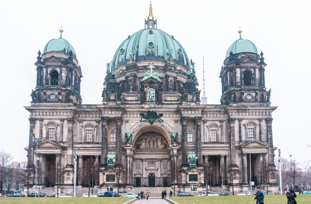 Berliner Dom - one of the few older buildings still standing