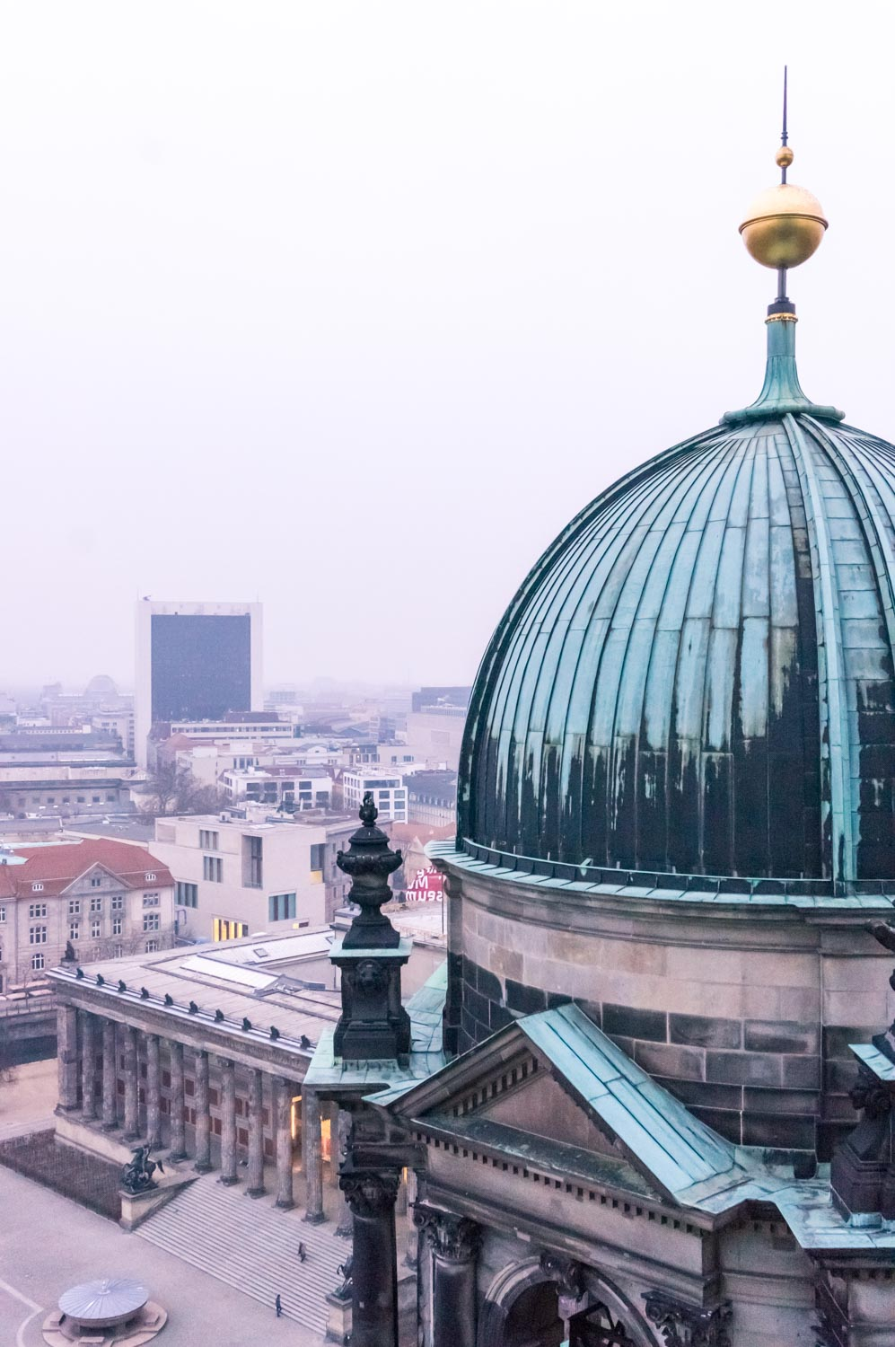 From the top of Berliner Dom