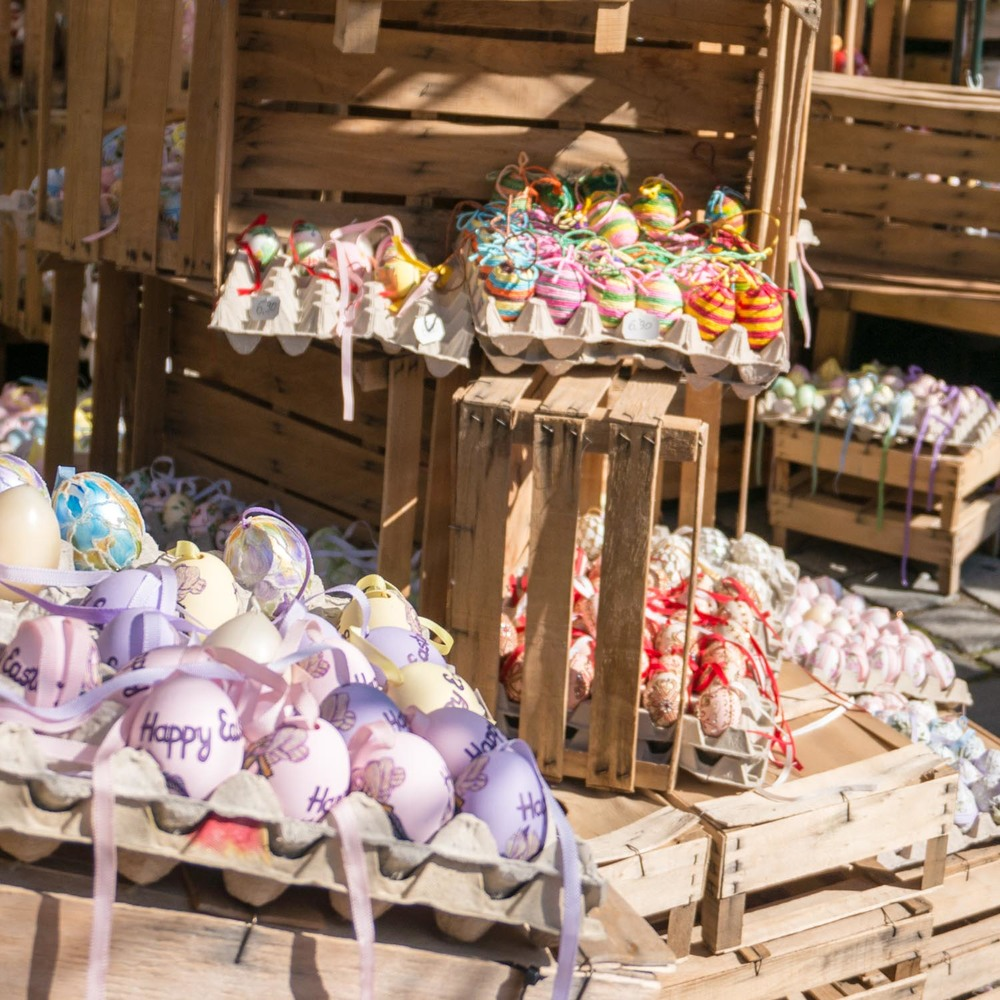 So many eggs in the Easter market!