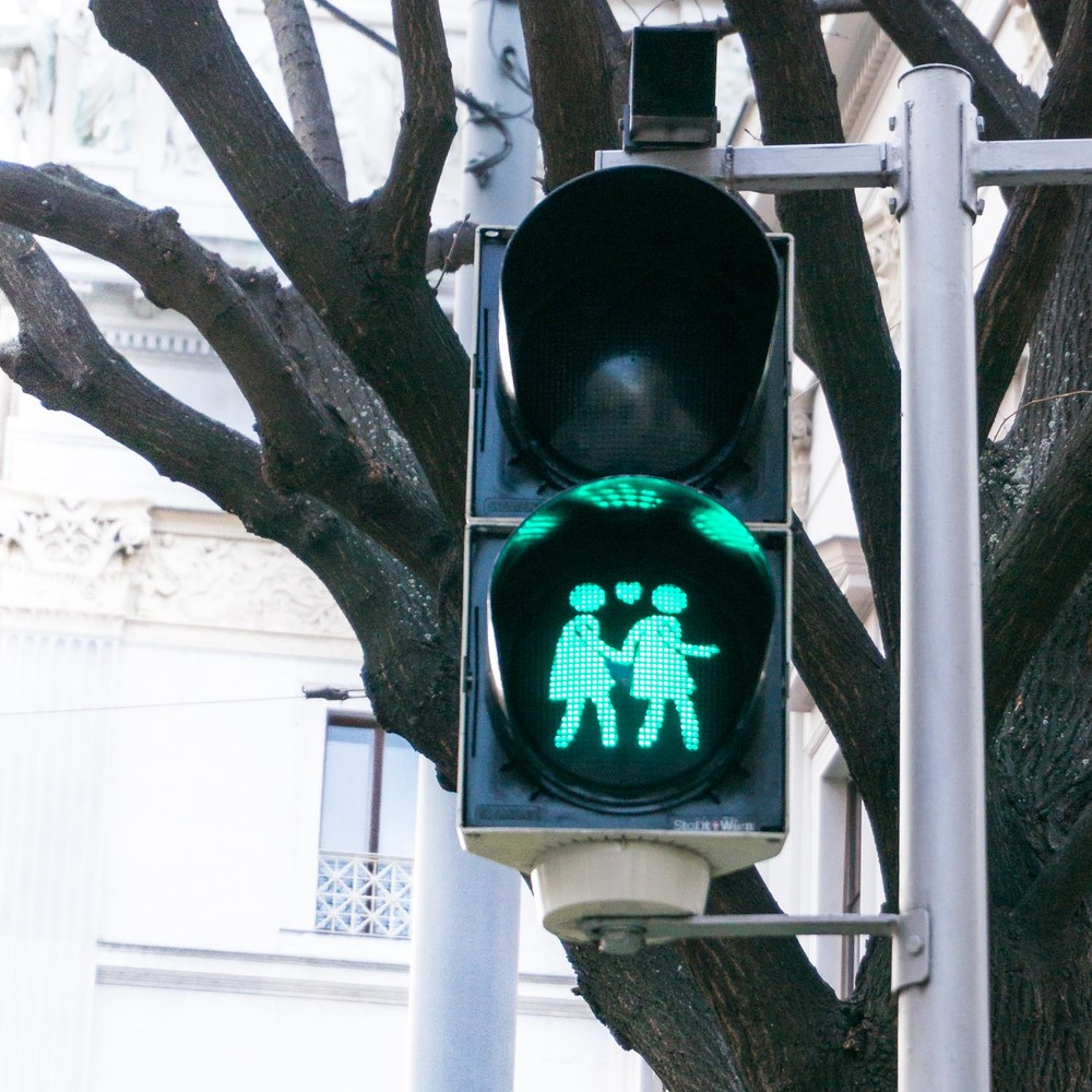 One of my favourite things about Vienna was the pedestrian lights! They were so cute!