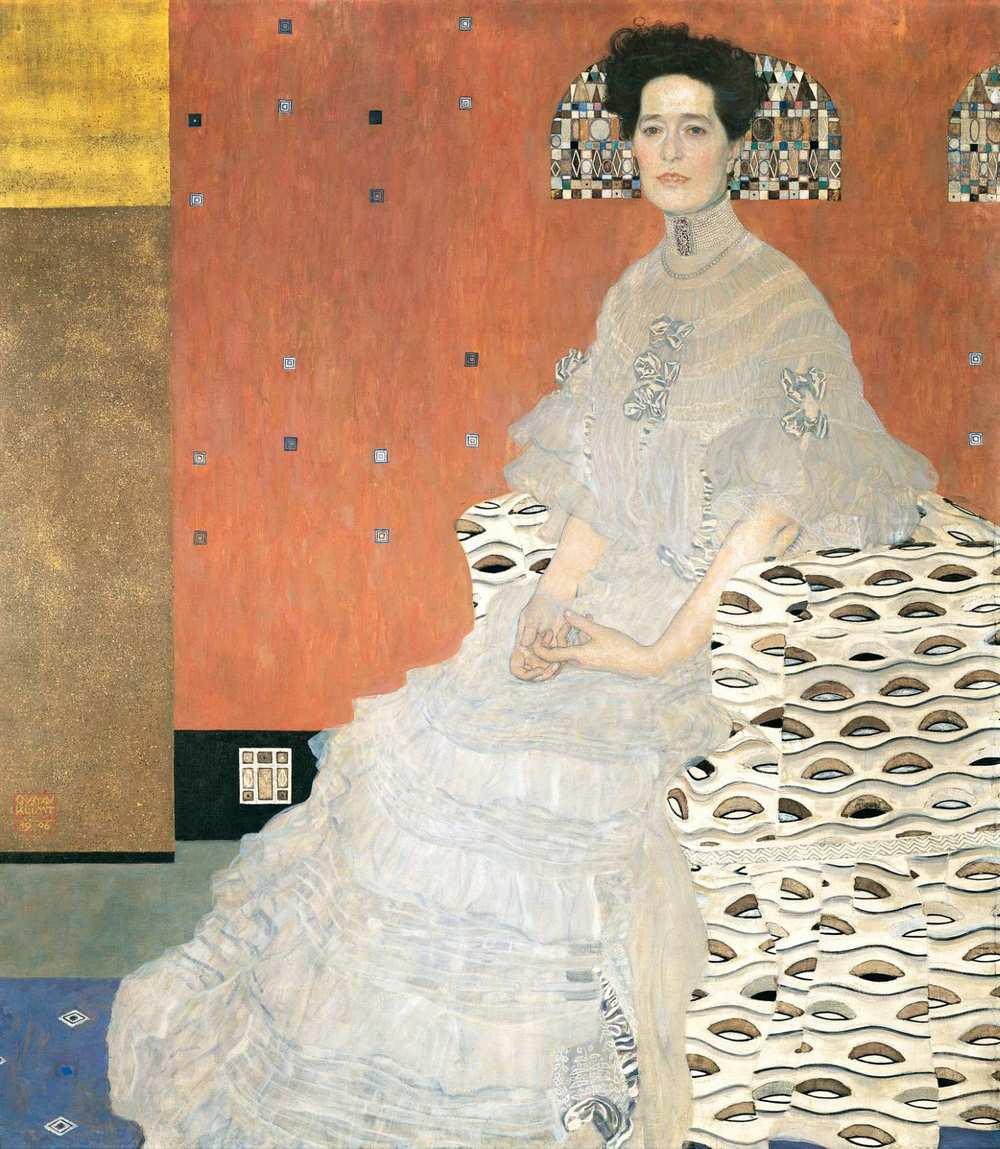 Gustav Klimt - Fritza Riedler