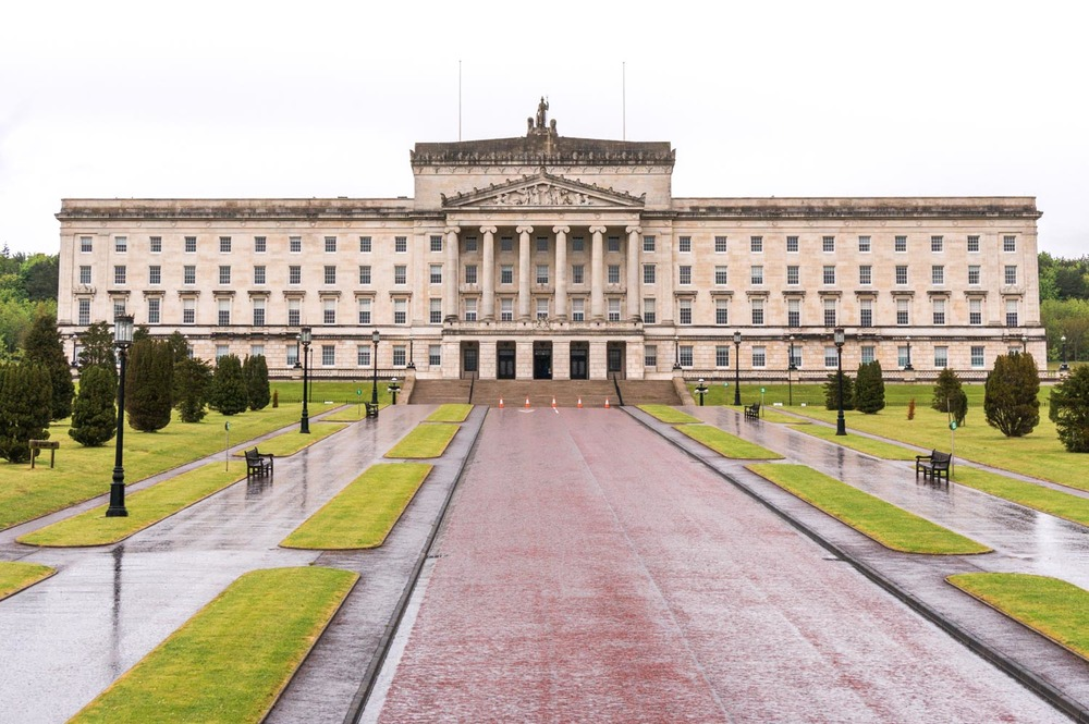 Stormont Estate - these are the Parliament Buildings of Northern Ireland. Pretty swanky!