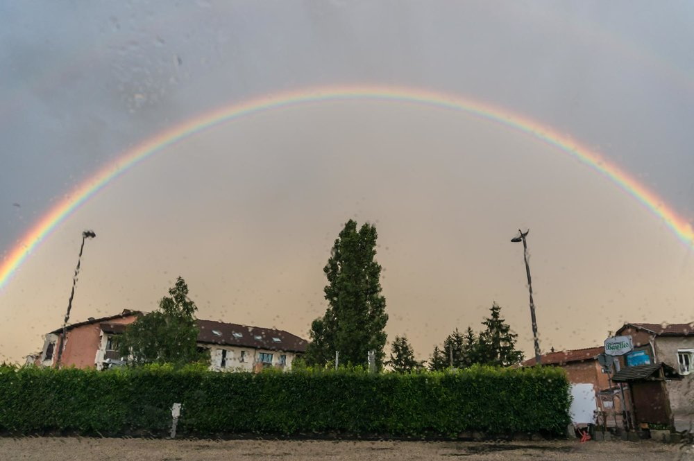 Rainbows in Lyon