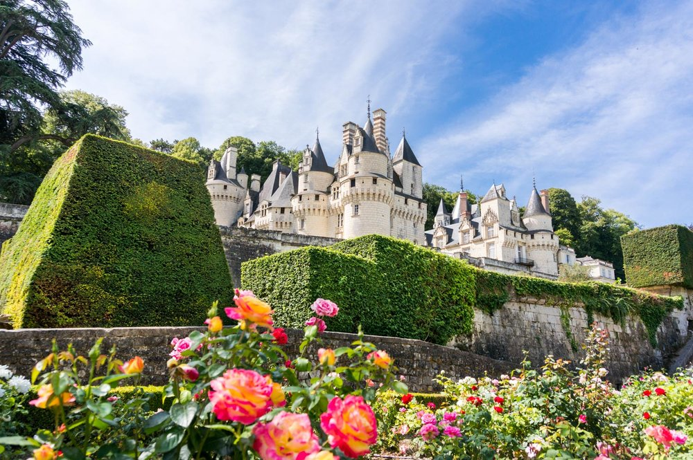 I could definitely feel the fairytale-ness of the chateau from the beautiful rose garden!