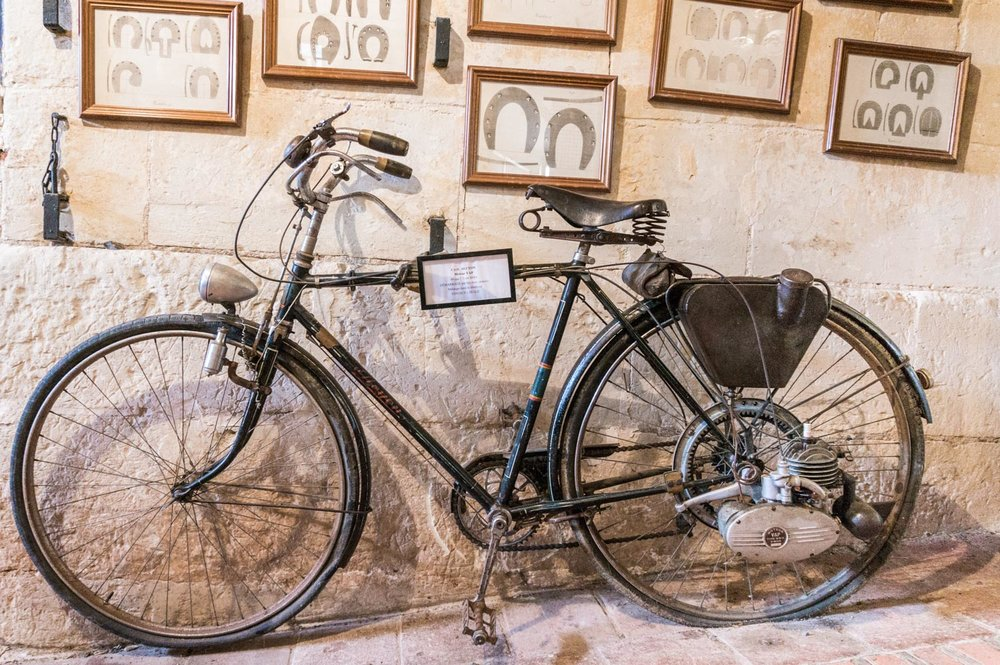 Old motorised bike