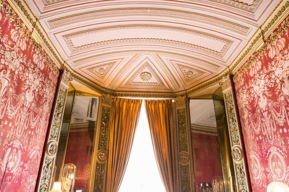 The red silk room