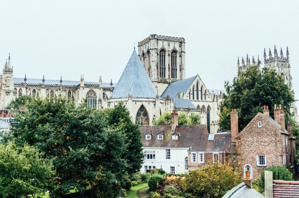 The Minster from the city walls