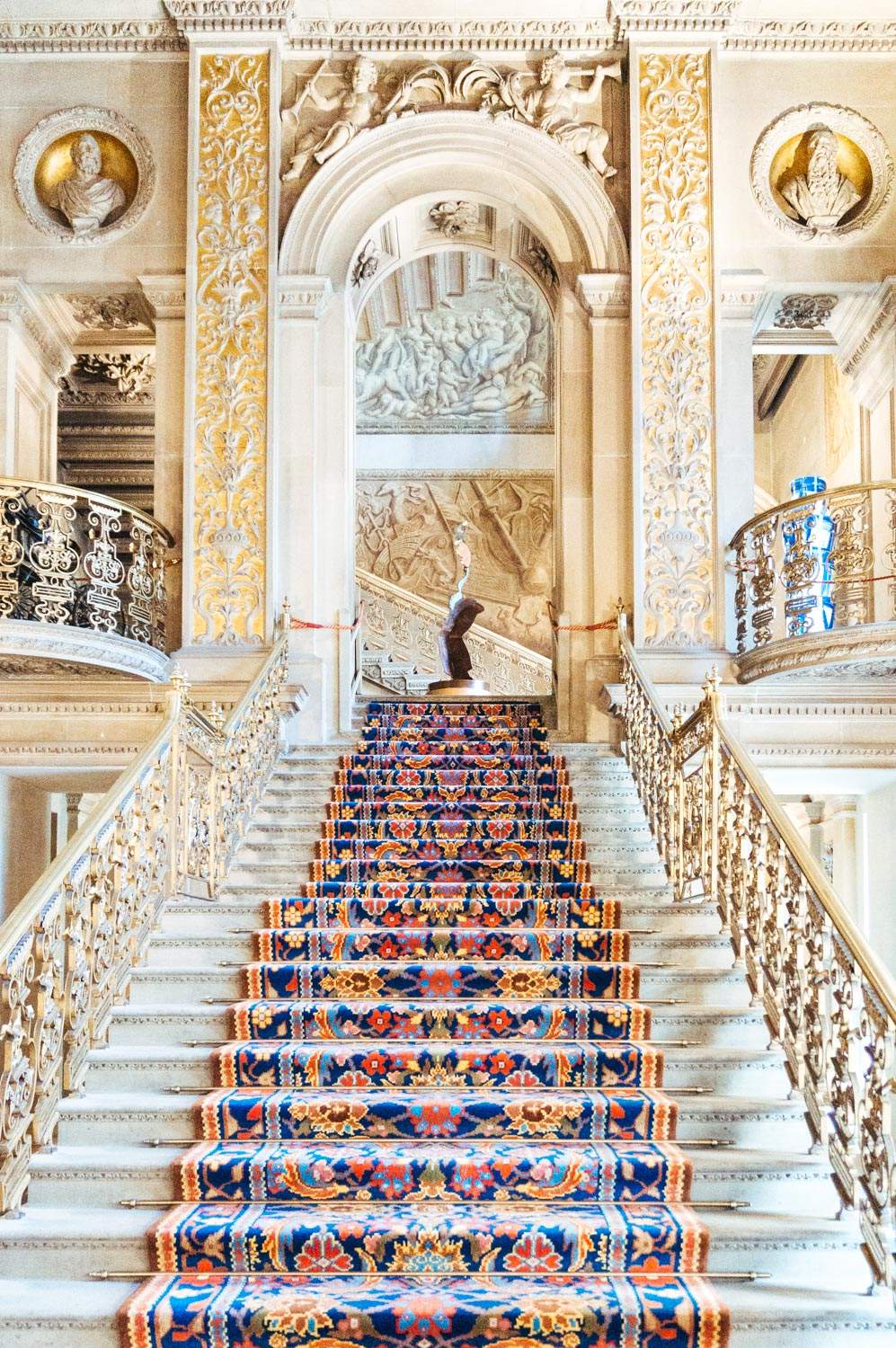 The absolutely breath-taking staircase