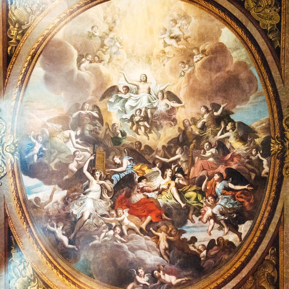 Another incredible ceiling painting
