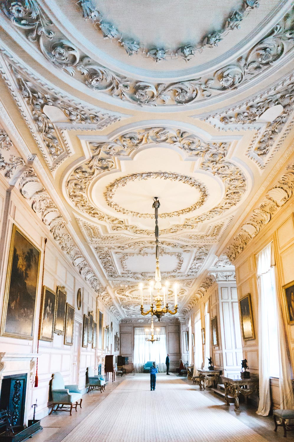 Inside Sudbury Hall