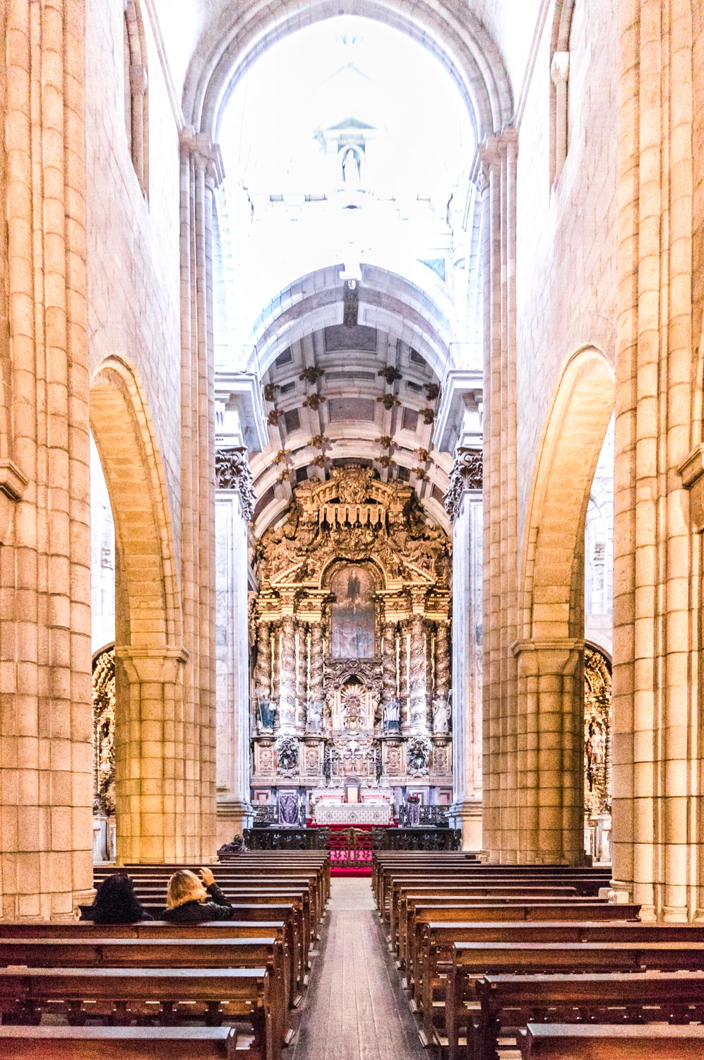 Inside the Sé do Porto (or Porto Cathedral)