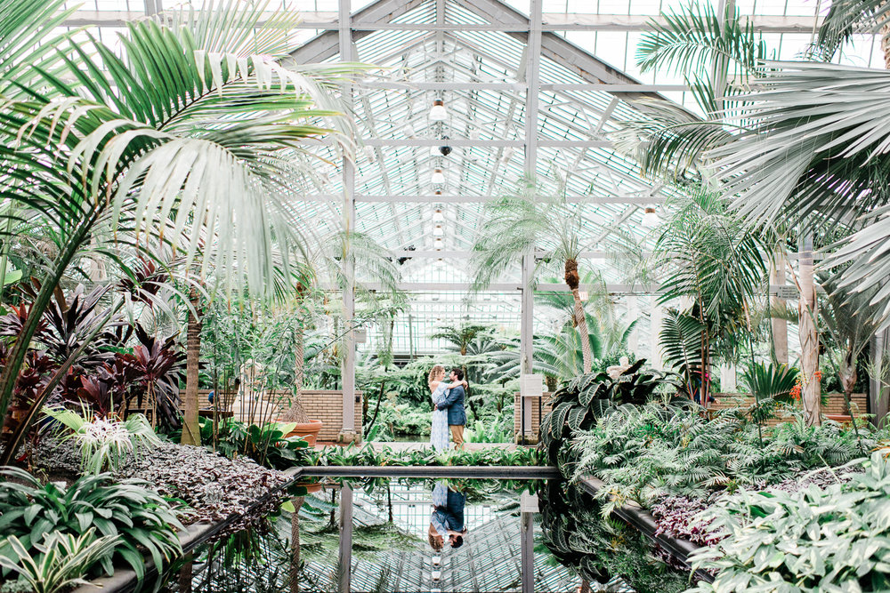 Brittany Bekas - Garfield Park Conservatory Chicago Engagement Photos-10.jpg