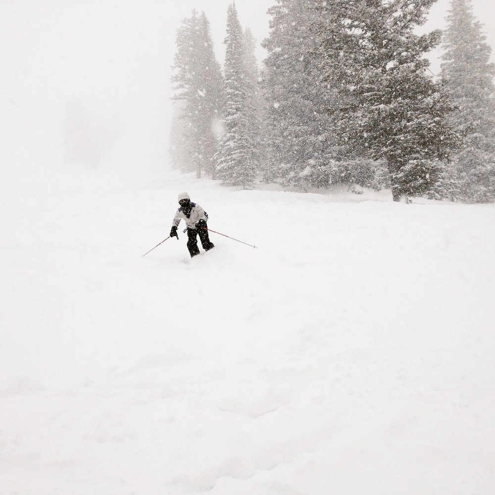 Powder day at Grand Targhee