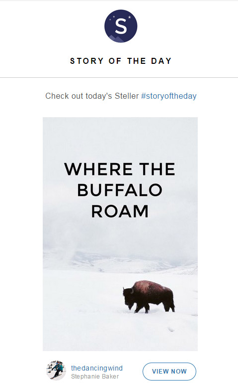 Steller Story of the Day - March 27, 2015