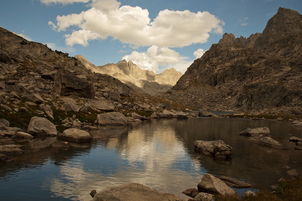 Backpacking the Wind River Range, Bridger Wilderness, Wyoming