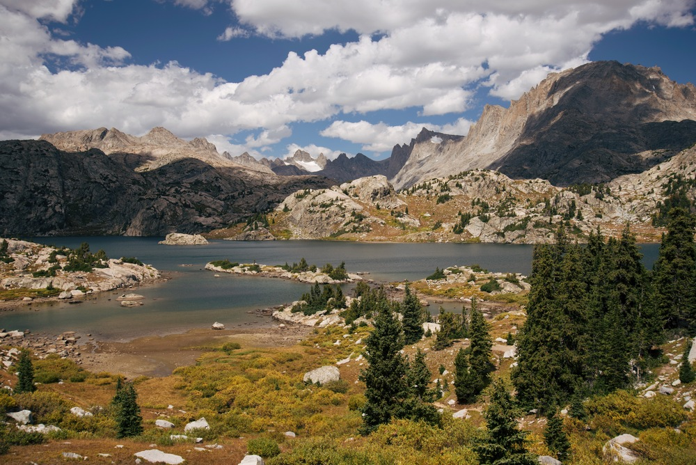 Island Lake, Wind River Range, Wyoming
