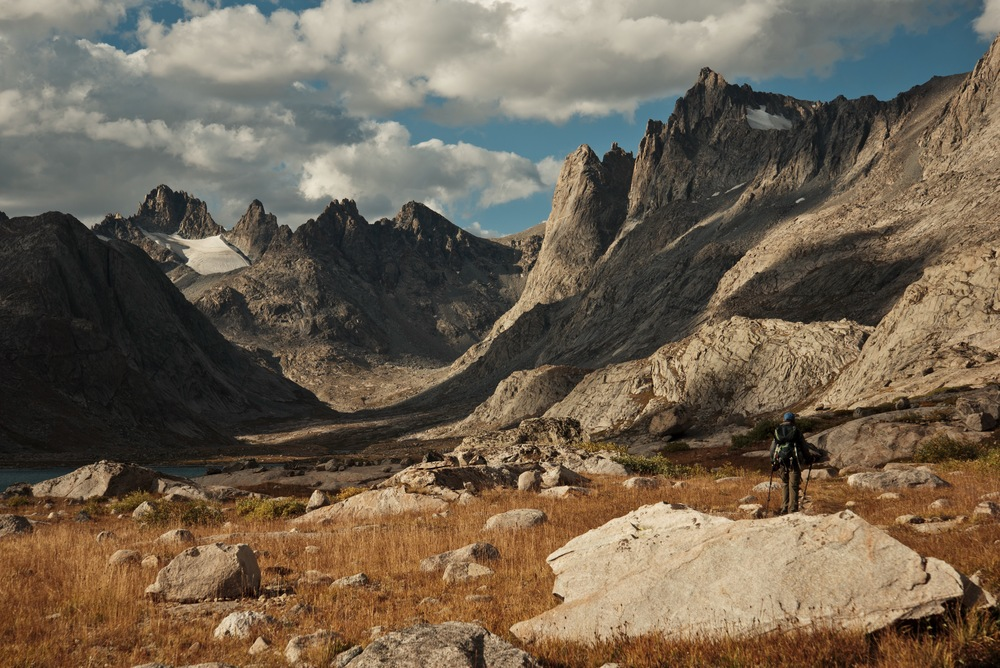 Titcomb Basin, Wind River Range, Bridger Wilderness, Wyoming