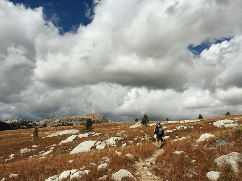 Backpacking the Wind River Range in Wyoming