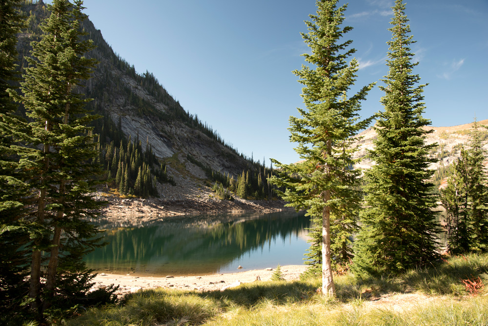Bass Lake, Selway-Bitterroot Wilderness, Montana