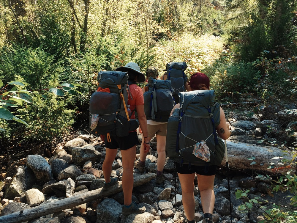 Yes, we did plan the matching  Gossamer Gear backpacks !