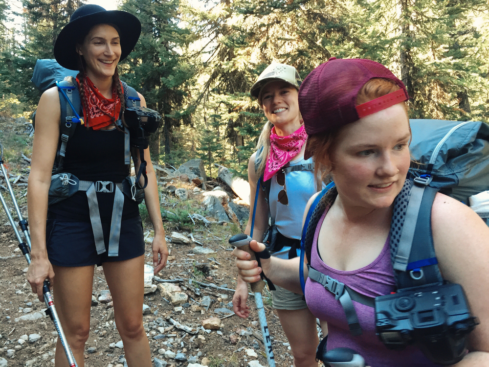 Backpacking with women at the Wild Sage Summit