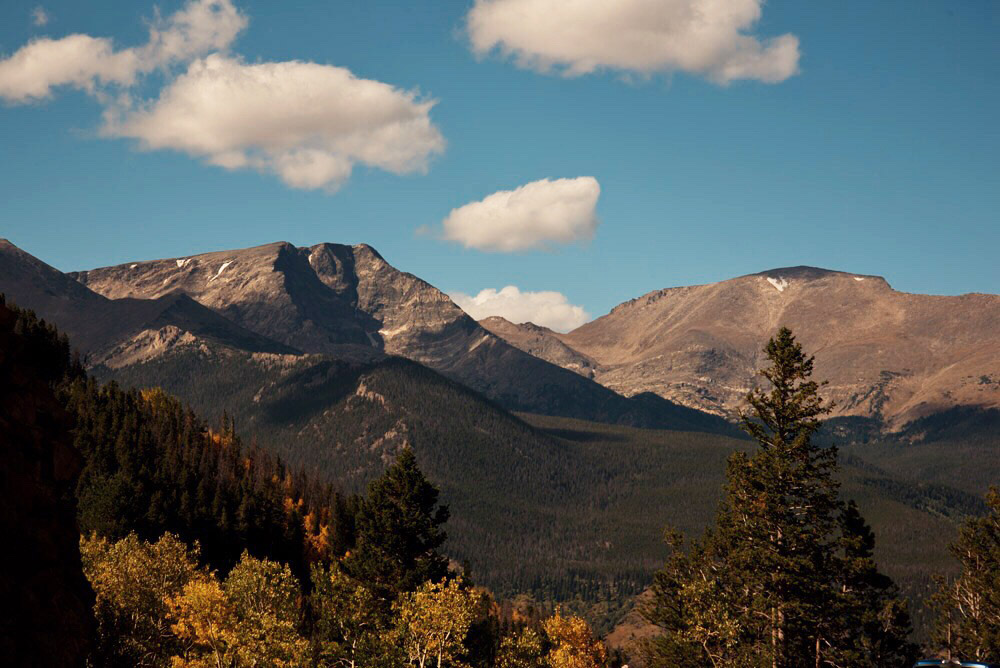 Autumn in Rocky Mountain National Park, Colorado