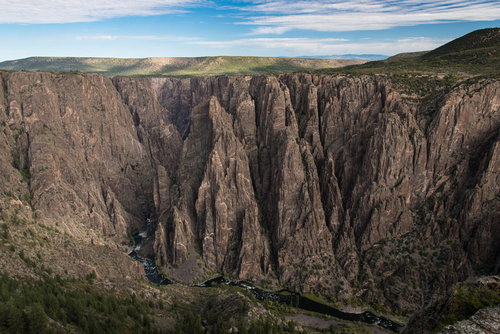Black Canyon of th  e Gunnison National Park