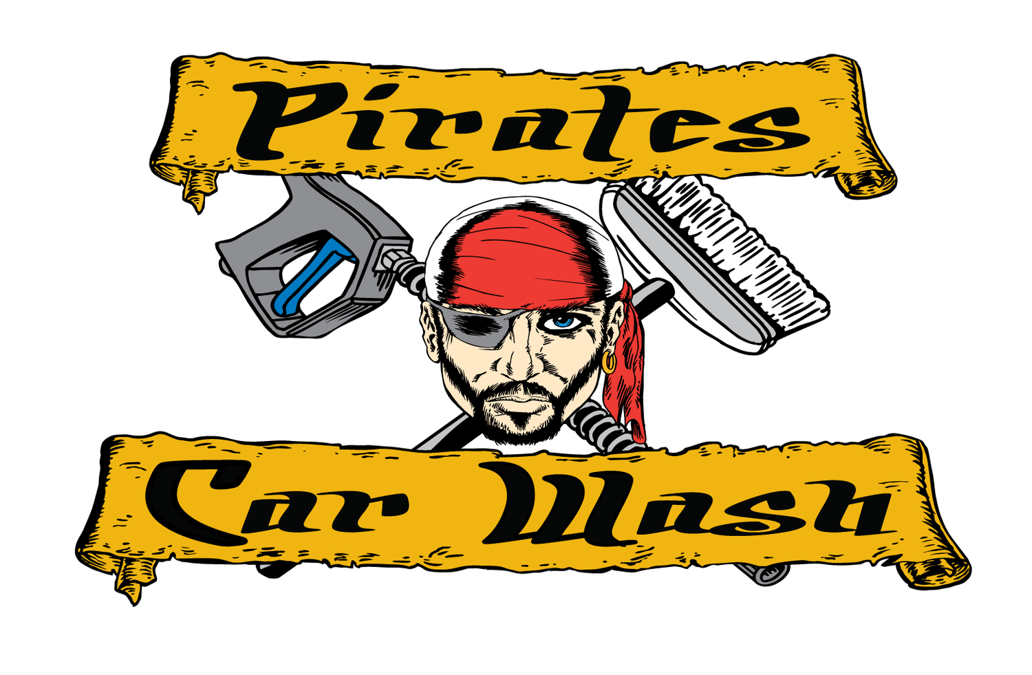 Pirates Car Wash