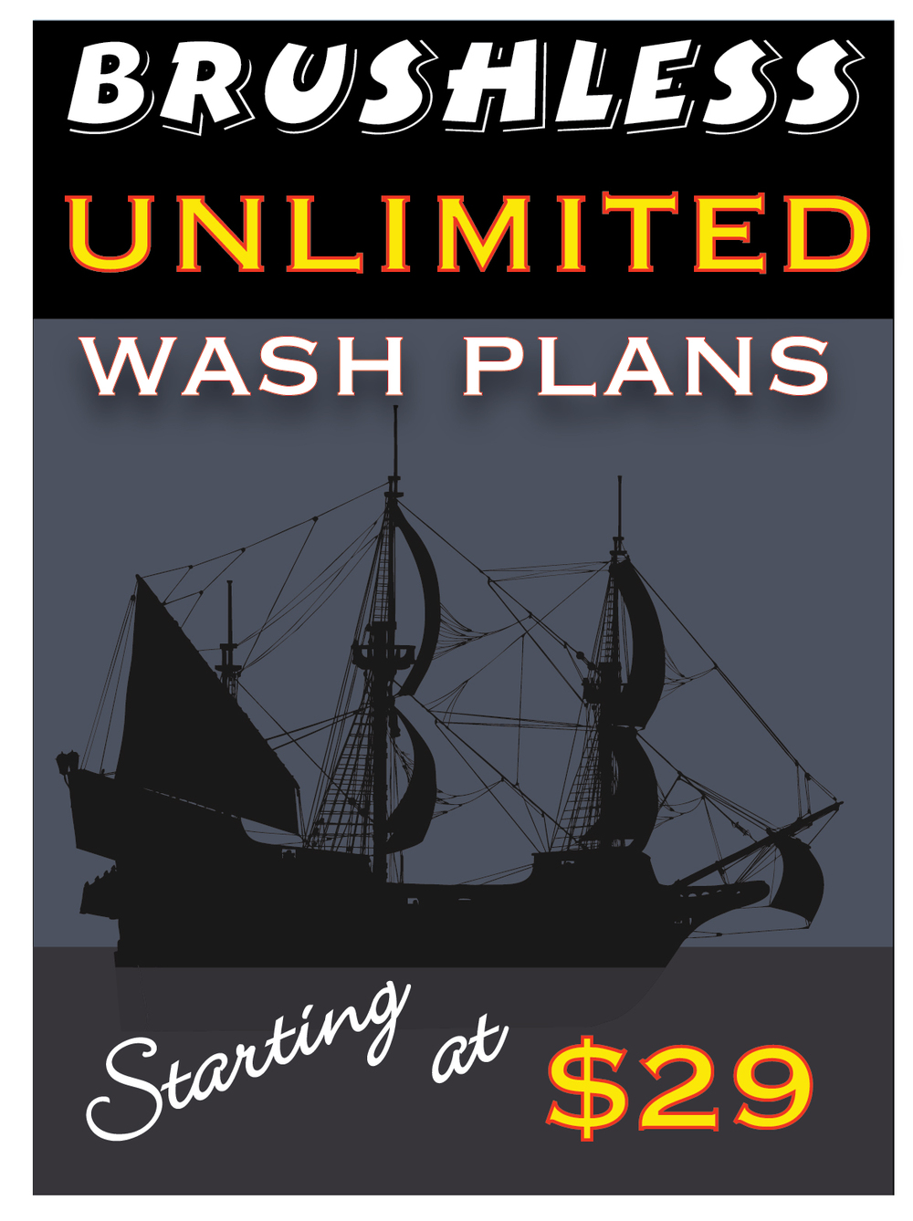 Maximize Your Treasure! Join us with one of our amazing Unlimited Wash Plans.