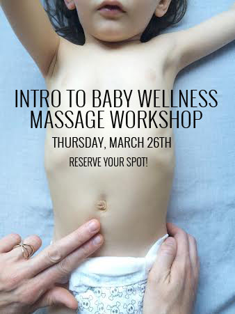 Baby Massage Workshop