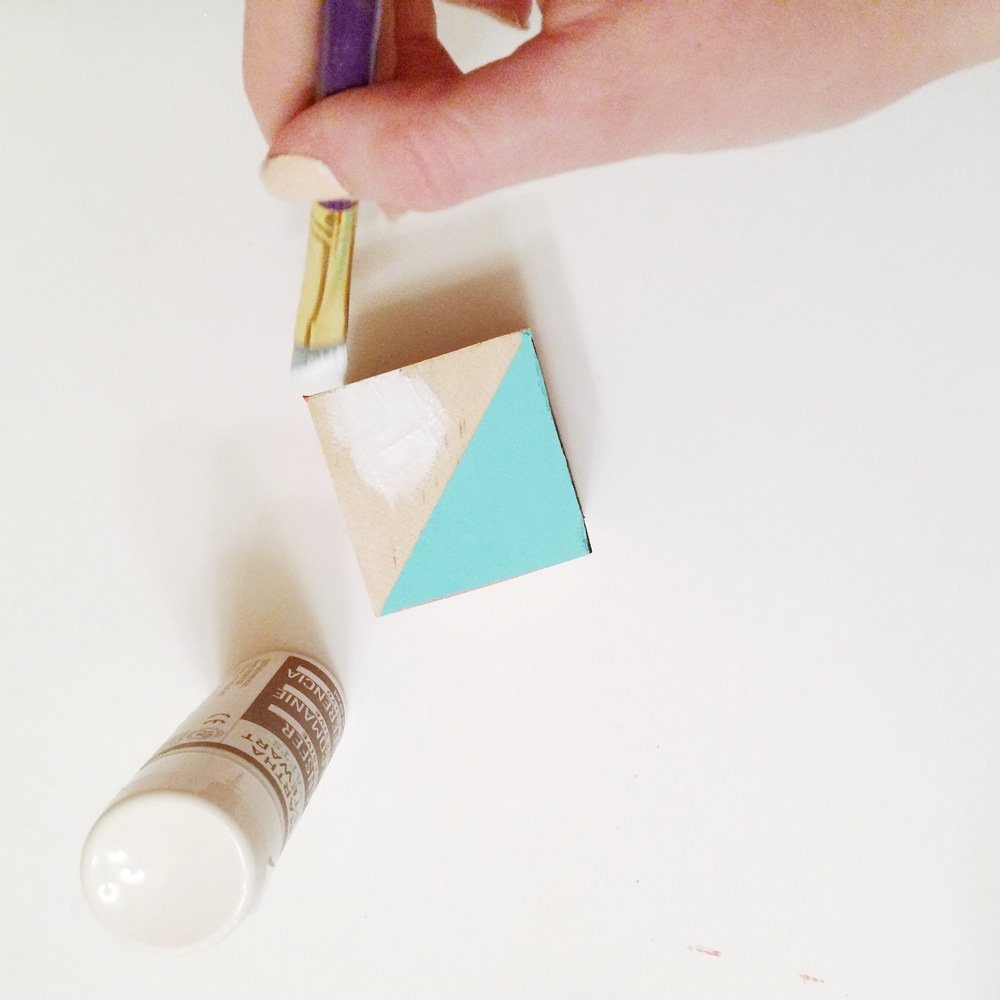 DIY Geometric Baby Blocks