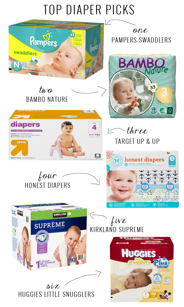 Best of Diapers | Momma Society | www.mommasociety.com