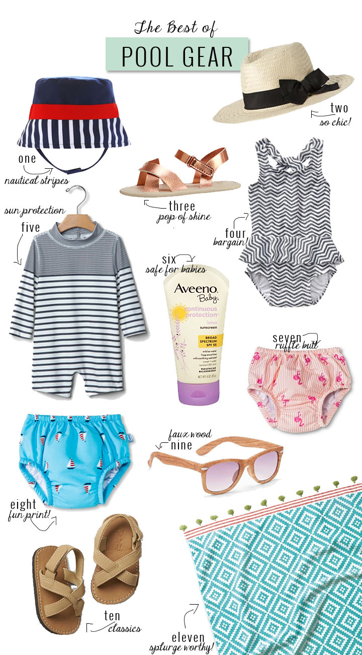 The Best of Pool Gear for Babies | Momma Society-The Community of Modern Moms | www.mommasociety.com