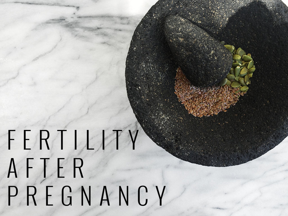 Seed Cycling to Enhance Fertility After Pregnancy | Momma Society-The Community of Modern Moms | www.MommaSociety.com | Join our Party on Instagram @mommasociety